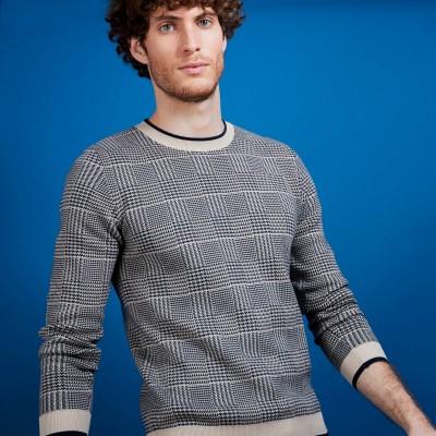 コットン・ジャカードセーター - Dubai