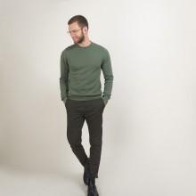 Pull col rond en coton cachemire - Burton