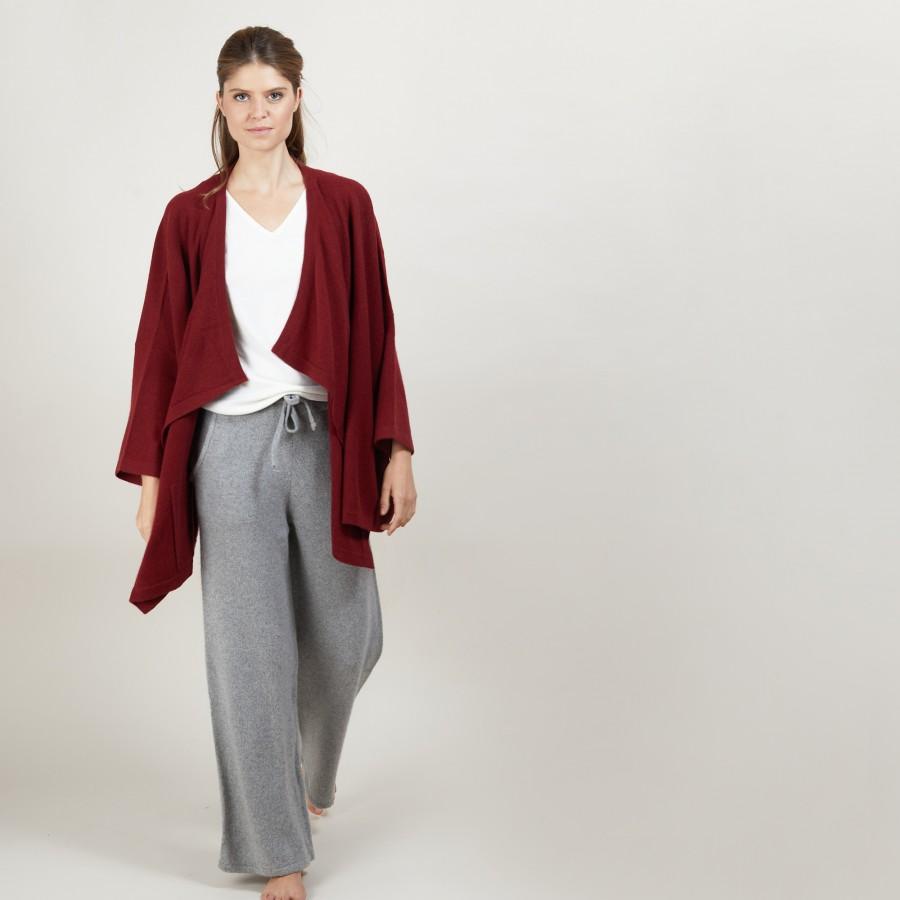 Oversized cashmere cardigan - Blondine