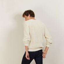 Pull manches raglan en soie laine - Bolide