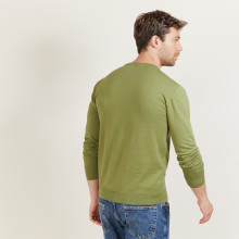 Cotton round neck sweater - Balboa