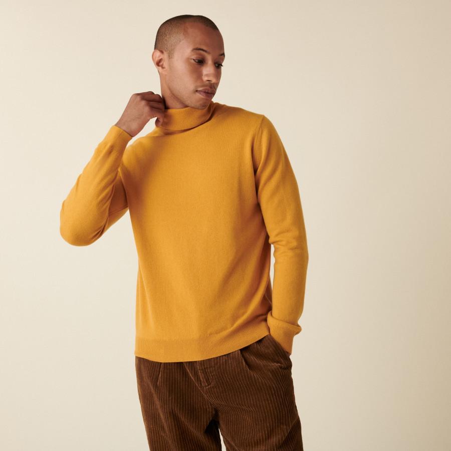 Cashmere turtleneck sweater - Eduardo