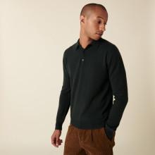 Cashmere polo neck sweater - Emerson