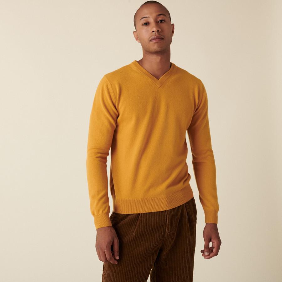 Cashmere V-neck sweater - Evann