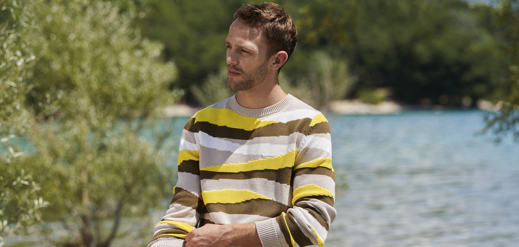 衣類 man sweater Maison Montagut